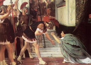 Claudius-being-proclaimed-emperor-by-the-Praetorian-Guard